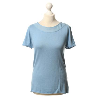 Armani Collezioni Haut en bleu