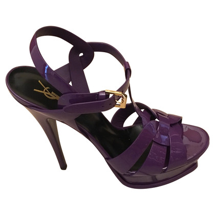 Saint Laurent TRIBUTE 105 purple