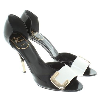 Roger Vivier Sandals in black / white