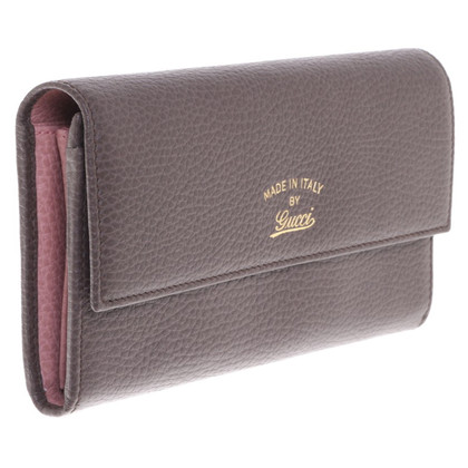 Gucci Portemonnee in bruin