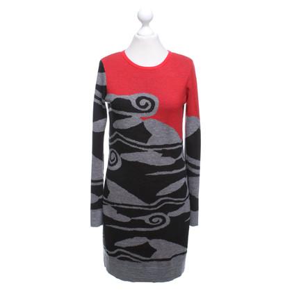 Diane von Furstenberg Multi-colored knit dress
