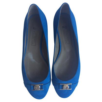 Gianni Versace Ballerinas in Blau