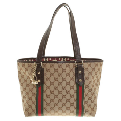 Gucci Handtasche mit Guccissima-Muster