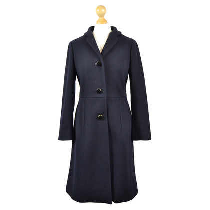 Marni Navy Blue Princess Style Cappotto