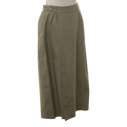 Hermès Summer skirt in olive