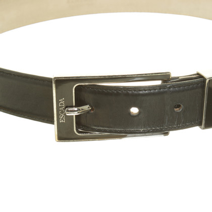 Escada Leather belt