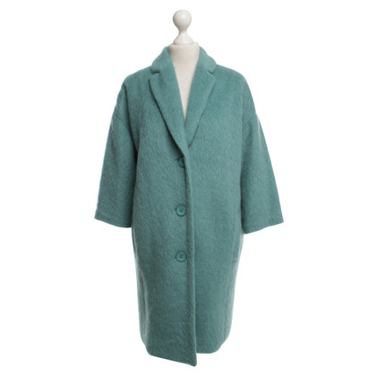Max Mara Coat in mint green