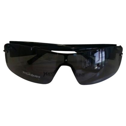 Yves Saint Laurent Schwarze Sonnenbrille