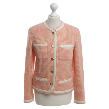 Chanel Short jacket with striped pattern
