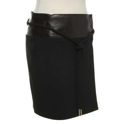 Gucci Wrap skirt in black