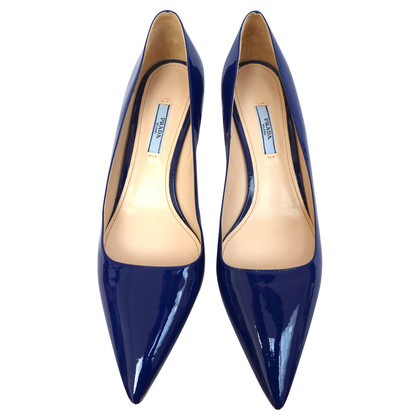 Prada Patent leather pumps with kitten heels