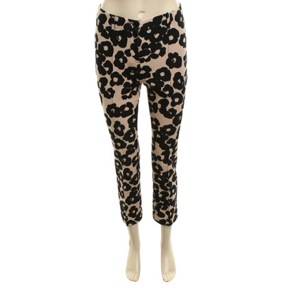 Marc Cain trousers with floral print