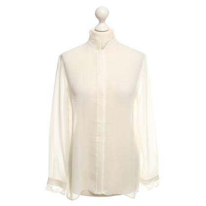 Lala Berlin Silk blouse with lace