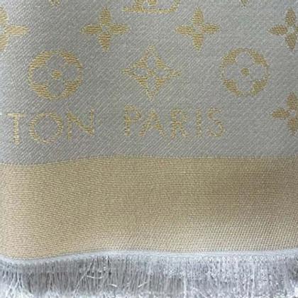 Louis Vuitton Monogram-Shine-Tuch in Beige