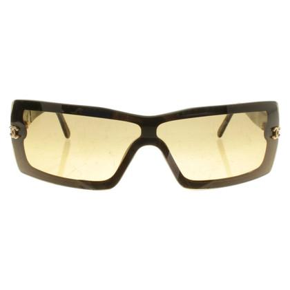 Chanel Sunglasses in black / beige