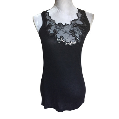 Patrizia Pepe Top with lace/sequin