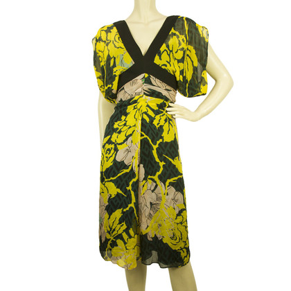 Diane von Furstenberg Floral silk dress