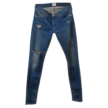 Hudson Denim aspect usagé