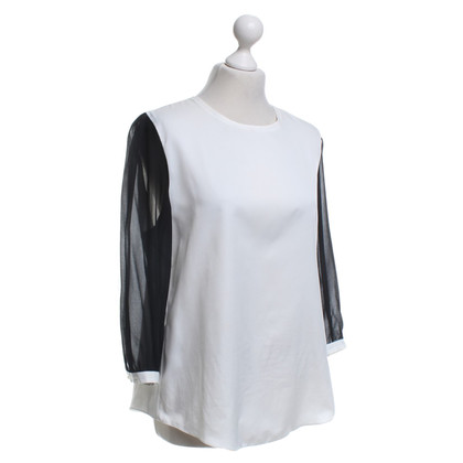 St. Emile Blouse in black and white