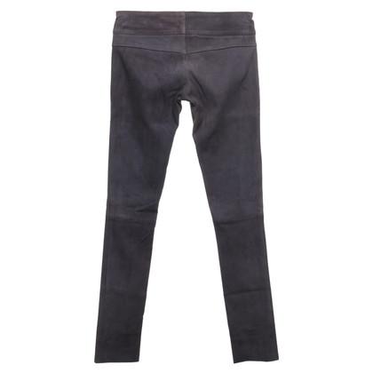 Andere merken Sly - leren broek in grijs