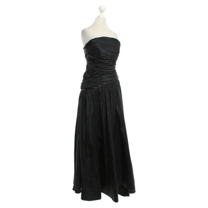 Max Mara Abendkleid in Schwarz