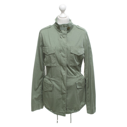Camouflage Couture Cotton jacket in green