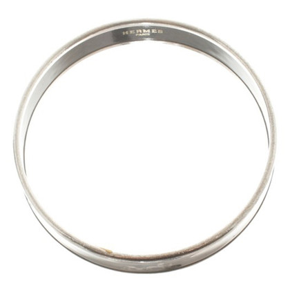 Hermès Emaille Bangle Bracelet in zwart