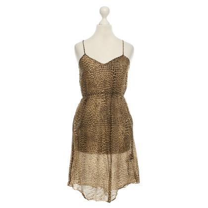 Wunderkind Dress with Animal Print