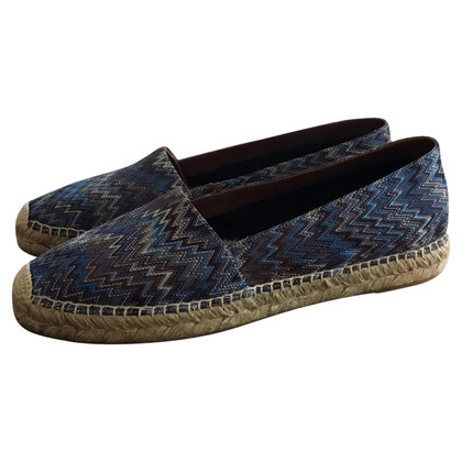 Missoni Espadrilles with zigzag pattern