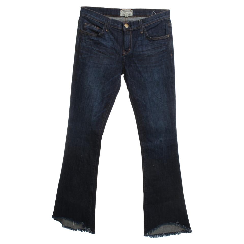 current elliott jeans mit fransen second hand current. Black Bedroom Furniture Sets. Home Design Ideas