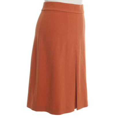 Diane von Furstenberg skirt in orange
