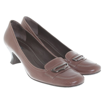 Navyboot pumps in Brown