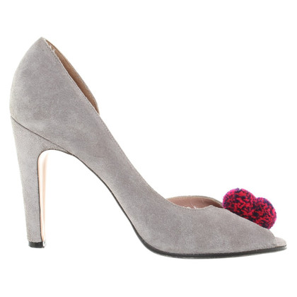 Marc by Marc Jacobs pumps in light gray