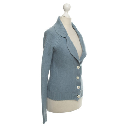 Allude Cardigan in Blue-Grey