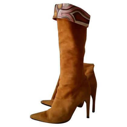 Emilio Pucci Suede boots
