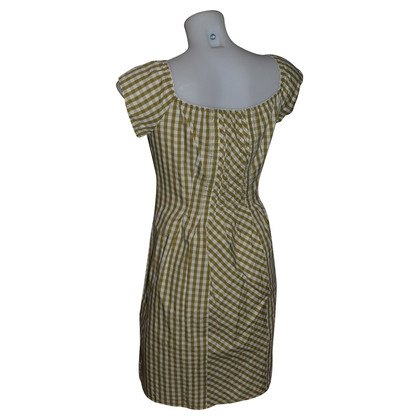 Philosophy di Alberta Ferretti checkered dress