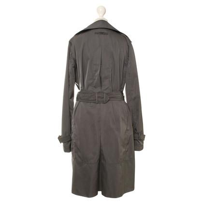 Armani Collezioni Trench coat in grigio