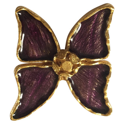 Yves Saint Laurent broche