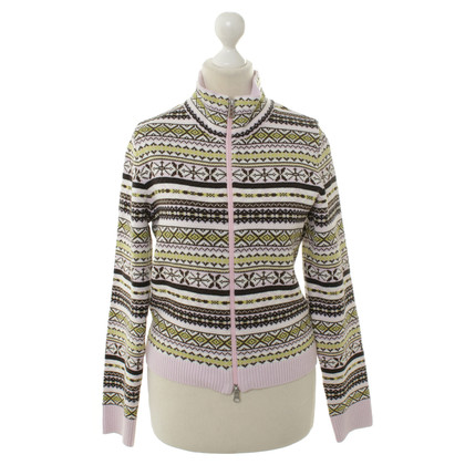 Bogner Knit Jacket with Norwegian pattern