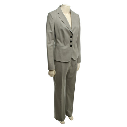 Cinque Pants suit in grey/beige