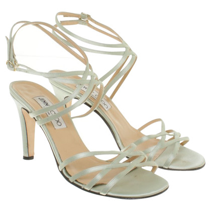Jimmy Choo Sandals in mintgroen