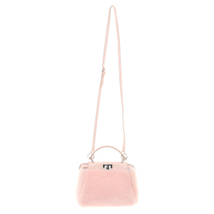 Fendi Peekaboo Shoulder bag in pink