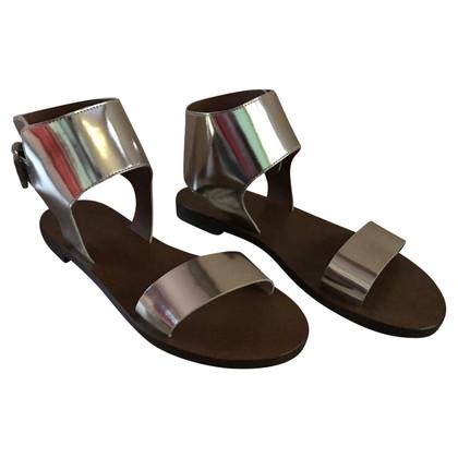 Max & Co Silver colored sandals