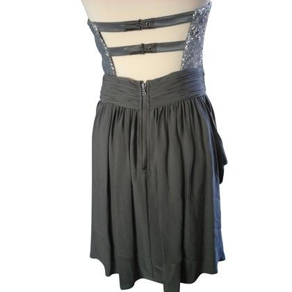 Alice + Olivia strapless jurk