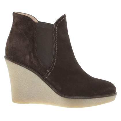 Giorgio Armani Ankle boots with platform sole