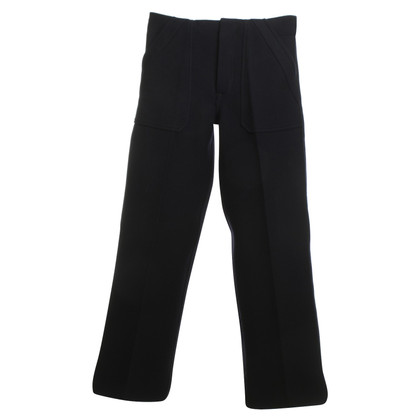 Céline Wool pants in blue