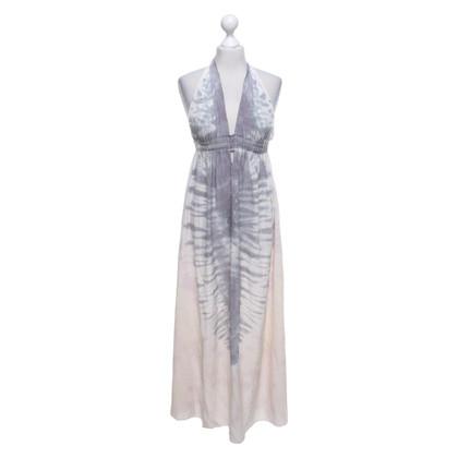 Love Shack Fancy Maxi robe avec motif batik