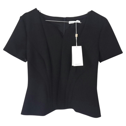 Hugo Boss Blouse short sleeve, contrasting stitching