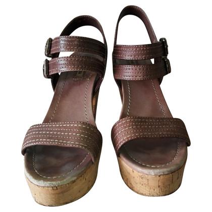 Miu Miu Sandals in brown