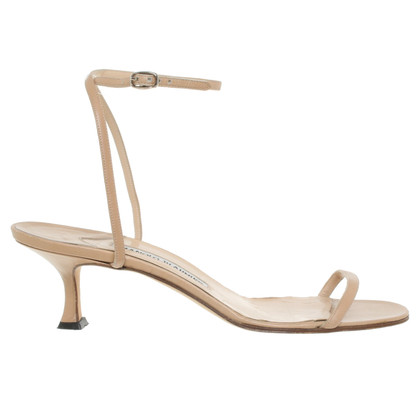 Manolo Blahnik Sandals in beige